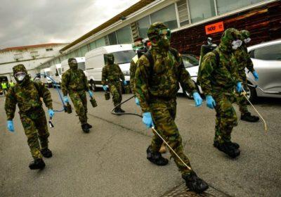 Apoyo a los soldados para la reforma de la Ley que les obliga a salir a los 45 años